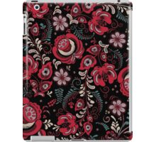 Red Tzvetochki iPad Case/Skin