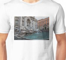 Rome's Fabulous Fountains - Trevi Fountain, No Tourists Unisex T-Shirt