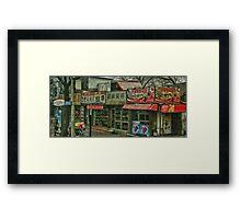 Beijing shopping Framed Print