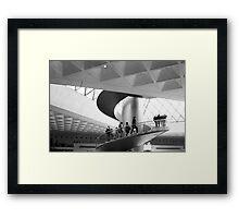 the stair Framed Print