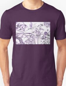 european painting and sculpture tangle Unisex T-Shirt