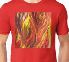 Abstract Flames Unisex T-Shirt