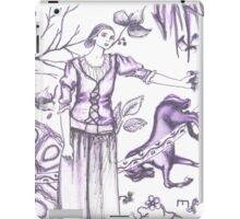 european painting and sculpture tangle iPad Case/Skin
