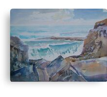 The Rocky Bay Canvas Print