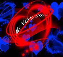 Neon Hearts by CardZone By Ian Jeffrey