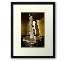 Venera and Her Shadow Framed Print