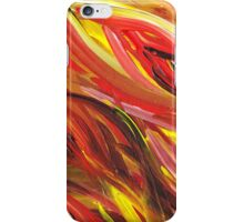 Hot Abstract Flames iPhone Case/Skin
