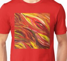 Hot Abstract Flames Unisex T-Shirt