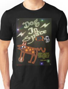 Dog In Space T-shirt Design Unisex T-Shirt
