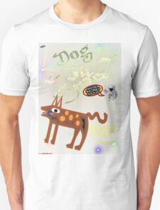 Dog In Space T-shirt Design T-Shirt