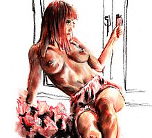 Nude at Window by chilby