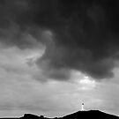 Storm Break over Reykjanes Lighthouse - Iceland by Dave  Miller