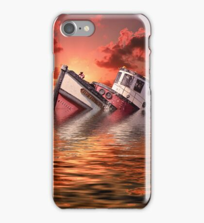 Sinking Boat iPhone Case/Skin