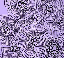 Hibiscus in Mauve by KeLu