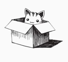 Cat in the box Kids Clothes