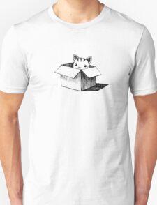 Cat in the box Unisex T-Shirt