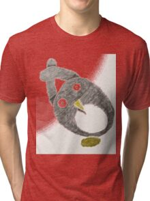Scribble Penguin Tri-blend T-Shirt