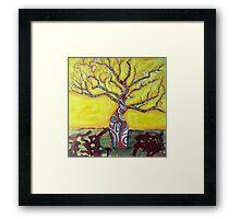 Boab Tree Bright Framed Print