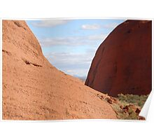 Valley of the Winds Kata Tjuta Poster