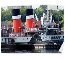 Paddle of The Waverley Poster