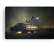 383AXE Burnout Canvas Print