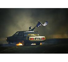 383AXE Burnout Photographic Print