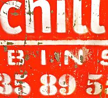 Chilli Bins 35 89 55 by Vikki-Rae Burns