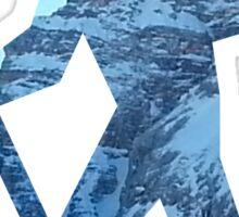 Alpine Hiker Sticker