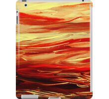 Abstract Landscape Yellow Hills iPad Case/Skin