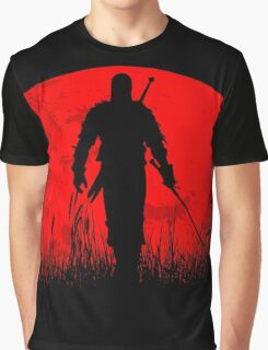 Red moon Graphic T-Shirt
