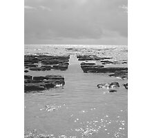 Exmouth beach rocks Photographic Print