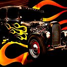 Hot Rod Flames by Andrew (ark photograhy art)