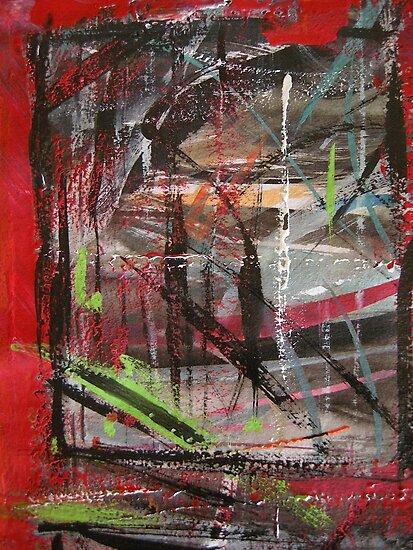 through red windows #5 by banrai