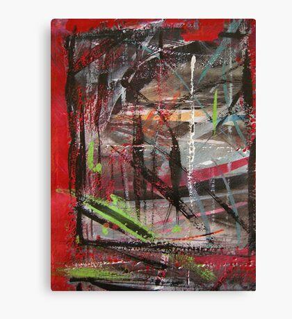 through red windows #5 Canvas Print
