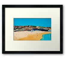 Sydney 2000 - Olympic Torch Landing by Sea - Panel 1 Framed Print
