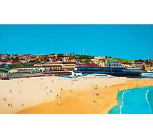 Sydney 2000 - Olympic Torch Landing by Sea - Panel 1 Photographic Print