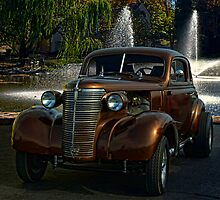 1938 Chevrolet Coupe Street Dragster by TeeMack