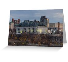 Supreme Court of Canada building Greeting Card