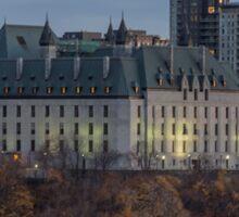 Supreme Court of Canada building Sticker