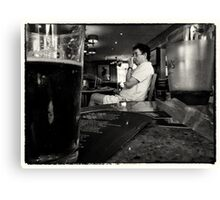 A Beer & A Punt Canvas Print