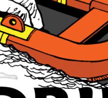 Adrift King Sticker