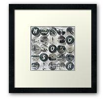 NOOSA - Acrylic Skins Framed Print
