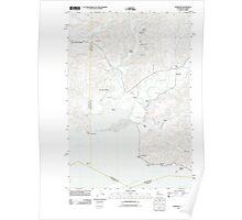 USGS Topo Map Washington State WA Rosburg 20110914 TM Poster