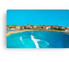 Sydney 2000 - Olympic Torch Landing by Sea - Panel 2 Canvas Print