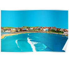 Sydney 2000 - Olympic Torch Landing by Sea - Panel 2 Poster