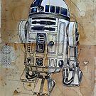 astromech droid by Loui  Jover