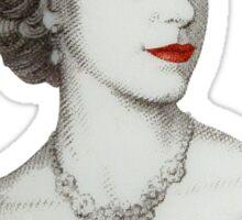 Queen of Diamonds Sticker