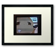 hue kawaii Framed Print