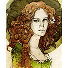 Margaery Tyrell_iPhone case by Elia Mervi