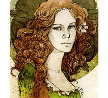 Margaery Tyrell_iPhone case by elia, illustration